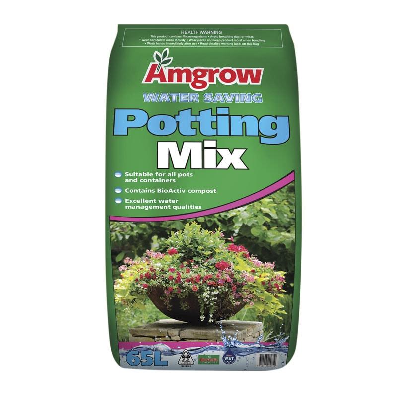 Amgrow Water Saving Potting Mix 65L