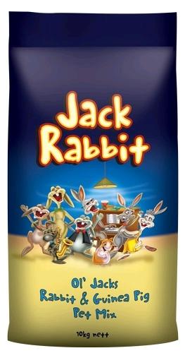 Laucke Ol' Jacks Rabbit & Guinea Pig Pet Mix 10kg