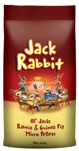 Laucke Ol' Jacks Rabbit & Guinea Pig Micro Pellets 10kg